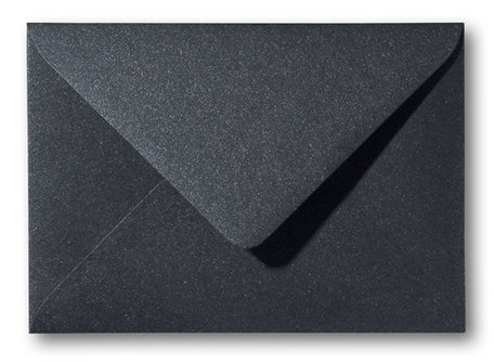 Metallic black 11 x 15,6 cm
