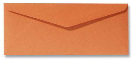Metallic orange glow 9x22cm