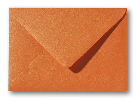 Metallic orange glow 15,6x22cm