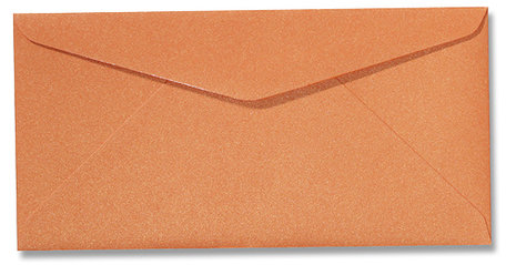 Metallic orange glow 11x22cm